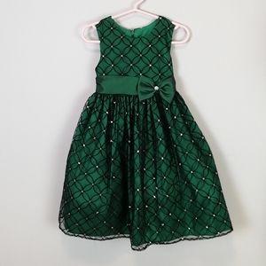 Jayne Copeland Formal Dress Green Size 3T